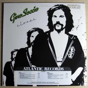 Gino Soccio - Closer - Rare Funk Disco -  STERLING Mast...