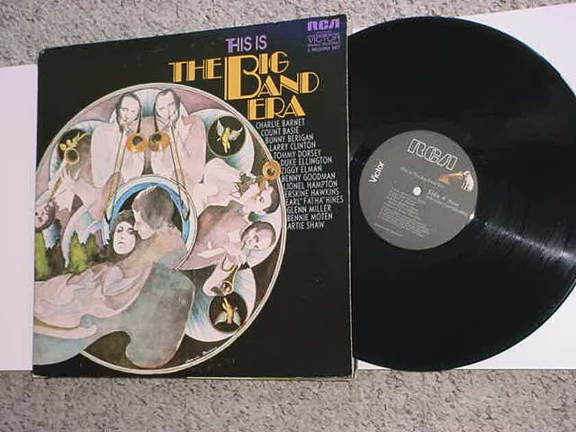 THIS IS THE BIG BAND ERA - Double lp record RCA VPM-6043 1971 MONO SEE ADD