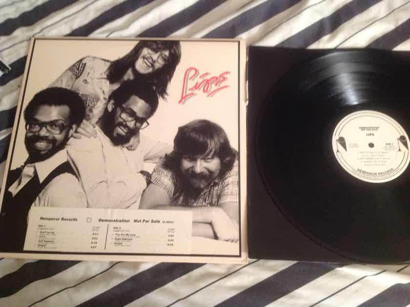 Lips Lips White Label Promo LP Nemperor Records Stanley Clarke Producer