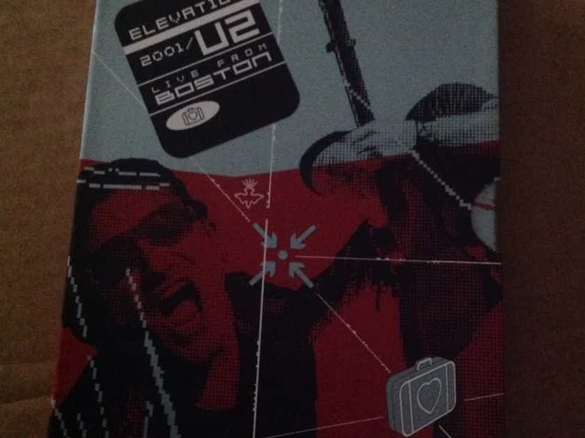 U2 - Elevation Live From Boston DVD Region 1