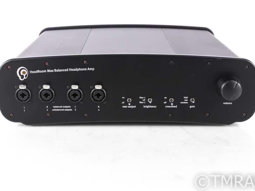 Headroom Max Balanced Headphone Amplifier; Max DAC; D/A Converter (20907)