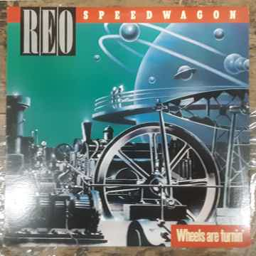 REO Speedwagon - Wheels Are Turnin' 1984 NM Vinyl LP Ep...