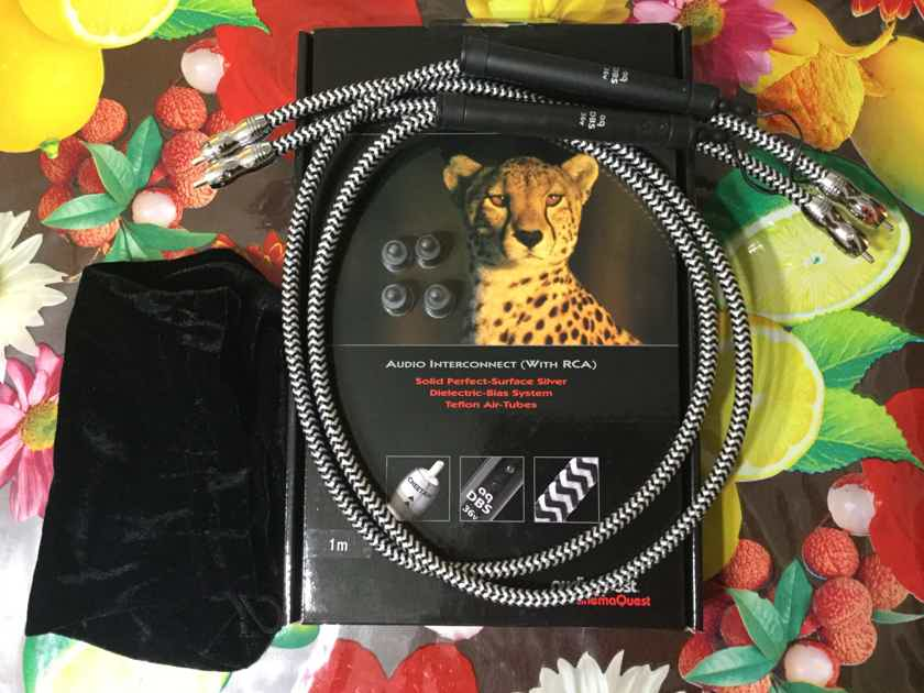 AudioQuest Cheetah int RCA MINT CONDITION