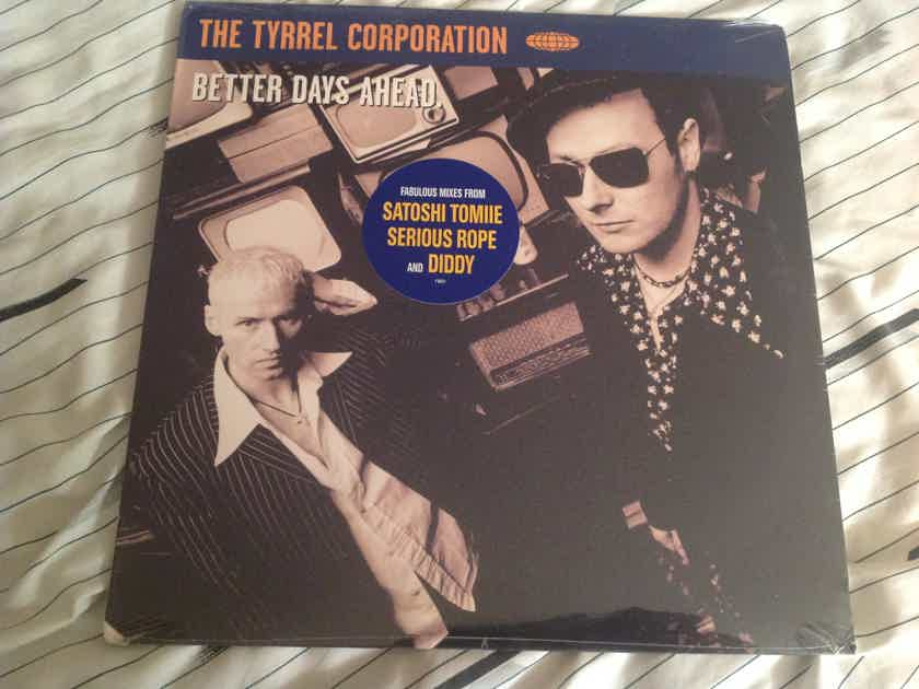 The Tyrrel Corporation  Better Days Ahead Sealed 12 Inch Brilliant Records