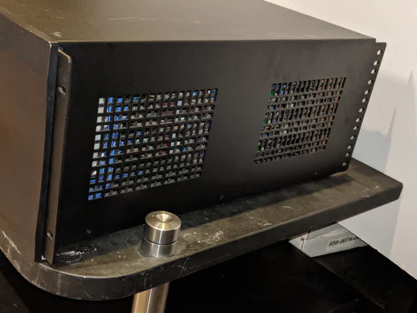 Datasat RA7300 Multi-Channel Power Amplifier in Black Finish