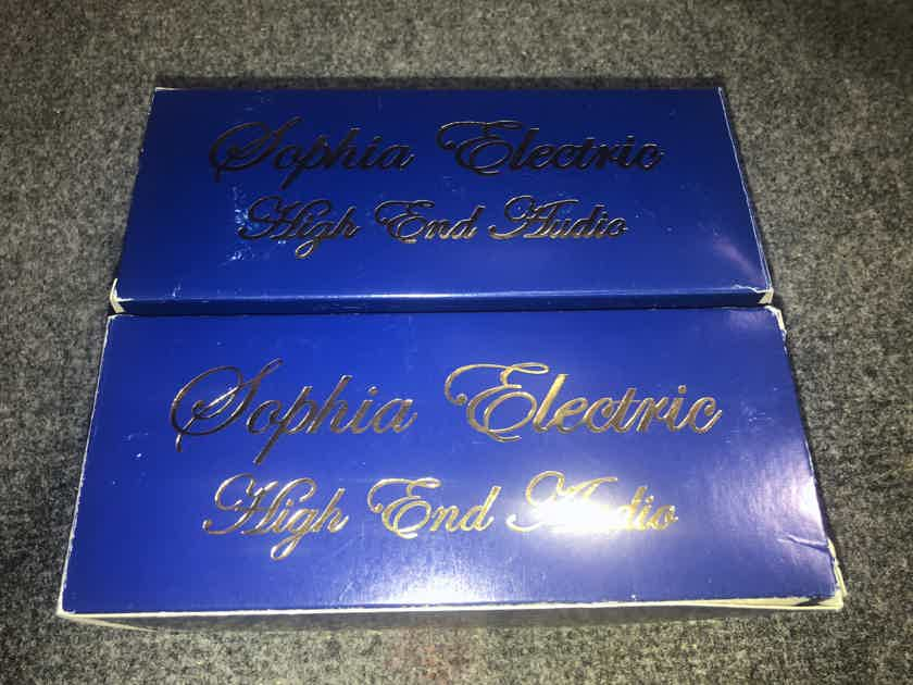Sophia Electric Princess 300b mesh plate matched  pair , low hours