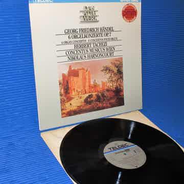 "HANDEL / Tachezi   - ""6 Organ Concertos"" - Teldec DMM G..."