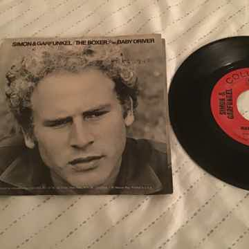 Simon & Garfunkel  The Boxer/Baby Driver 45 With Pictur...