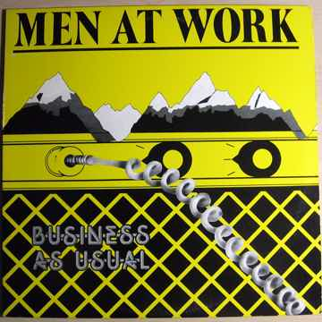 Men At Work - Business As Usual -  1982 Pitman Pressing...