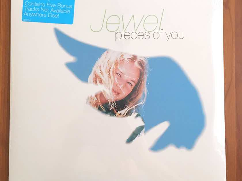 "JEWEL ""Pieces Of You"" SEALED 1994 1st Press w/Orig Hype Atlantic 82700 2LP... $65"