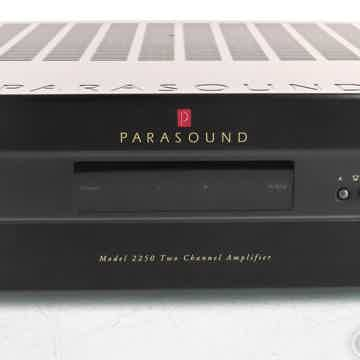 Parasound New Classic 2250 Stereo Power Amplifier