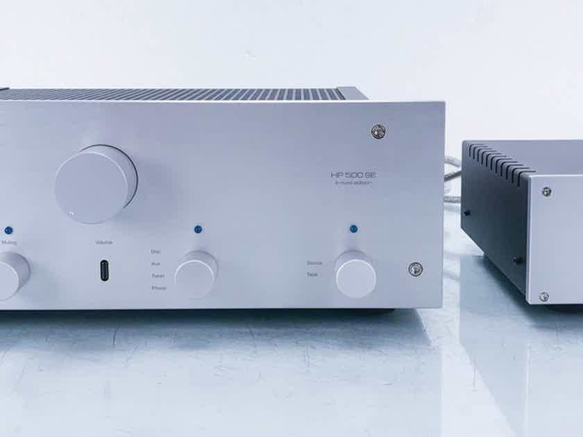 Octave HP 500 SE Stereo Tube Preamplifier Signed Limited Edition; MM / MC Phono (13560)