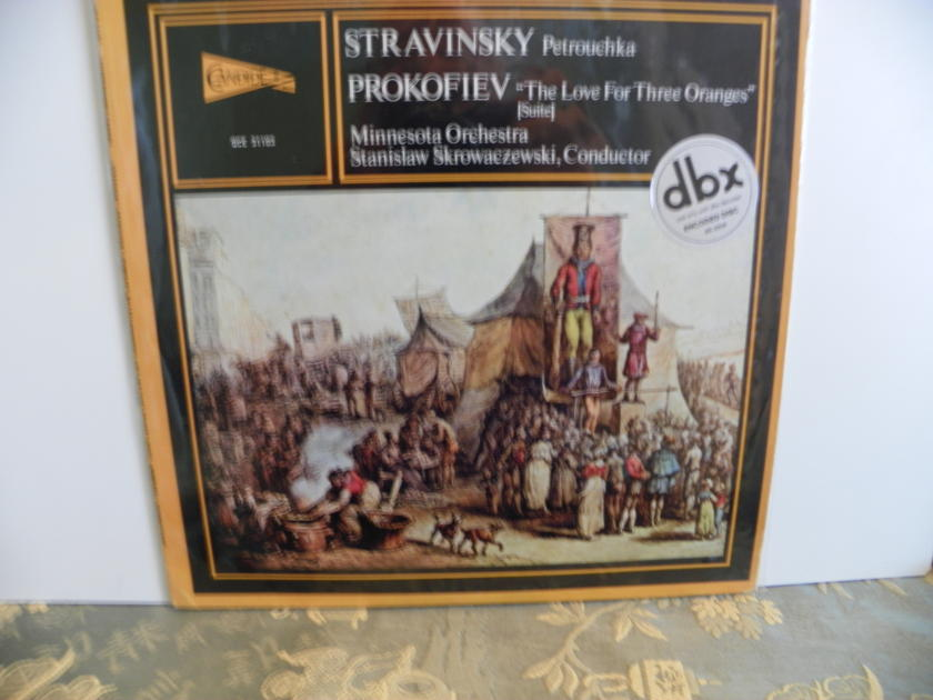 STRAVINSKY/PROKOFIEV - PETROUCHKA/LOVE FOR THREE ORANGES STANISLAW SKROWACZEWSKI  dbx ENCODED