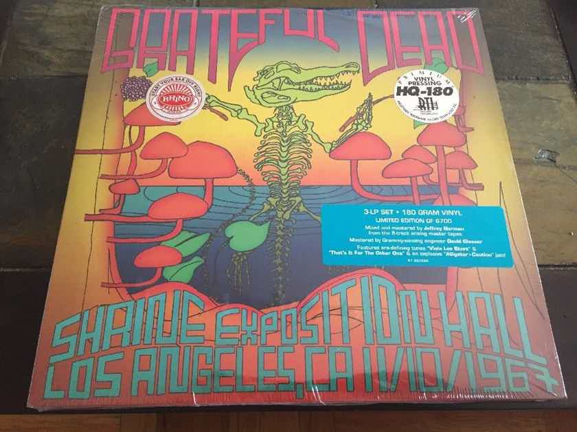 Grateful Dead  - Shrine Exposition Hall, Los Angeles, CA 11/10/1967 New/Sealed 3LP Set by RTI / Rhino 180g