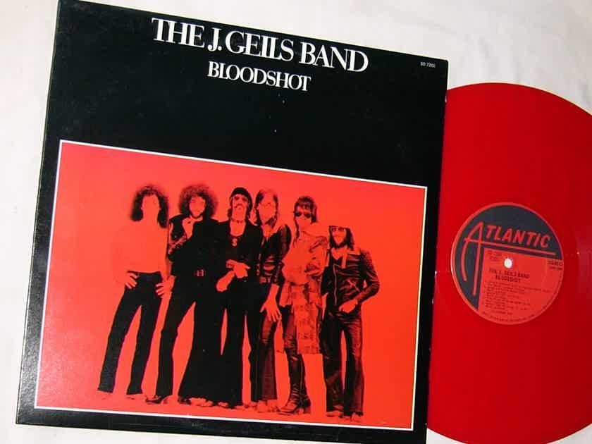 THE J. GEILS BAND -  - BLOODSHOT - RARE ORIG 1973 LP - RED VINYL - ATLANTIC SD 7260