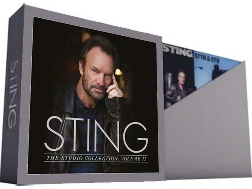 Sting - The Studio Collection - Volume II 5LP Set -  180Gram Pressing - New / Sealed