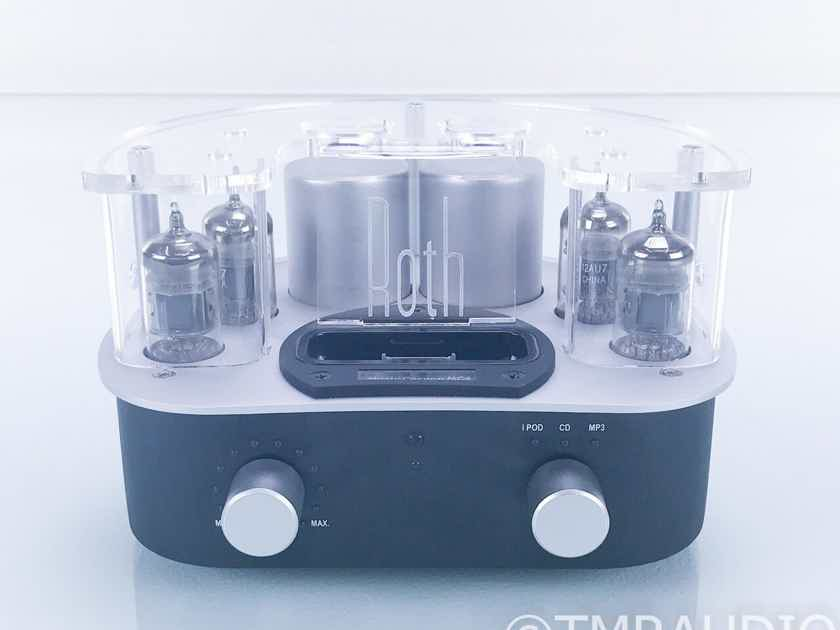 Roth Music Cocoon MC4 Stereo Tube Integrated Amplifier; MC-4; iPod Dock; Remote (17700)