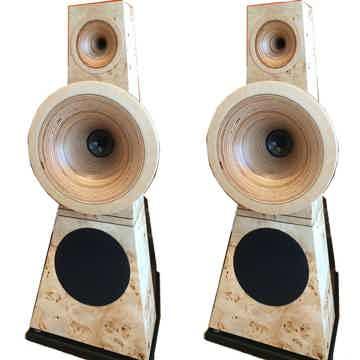 Odeon Audio No. 28 SE 3-way Horn Speakers (TULIP Poplar...