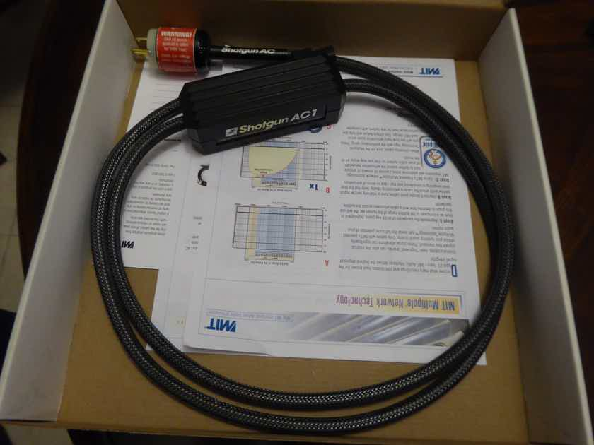 MIT Cables Shotgun AC1 Power Cord 2M