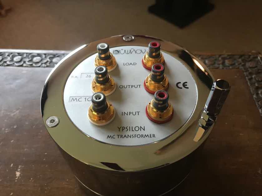 Ypsilon Electronics MC10 Step-up transformer (SUT) in very fine condition - Reduced!