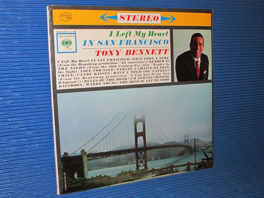 """TONY BENNETT   - """"I Left My Heart In San Francisco"""" - Columbia 1980 SEALED"""