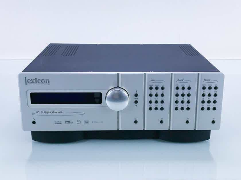 Lexicon MC-12B Home Theater Processor / Preamplifier MC12B; Remote (16763)