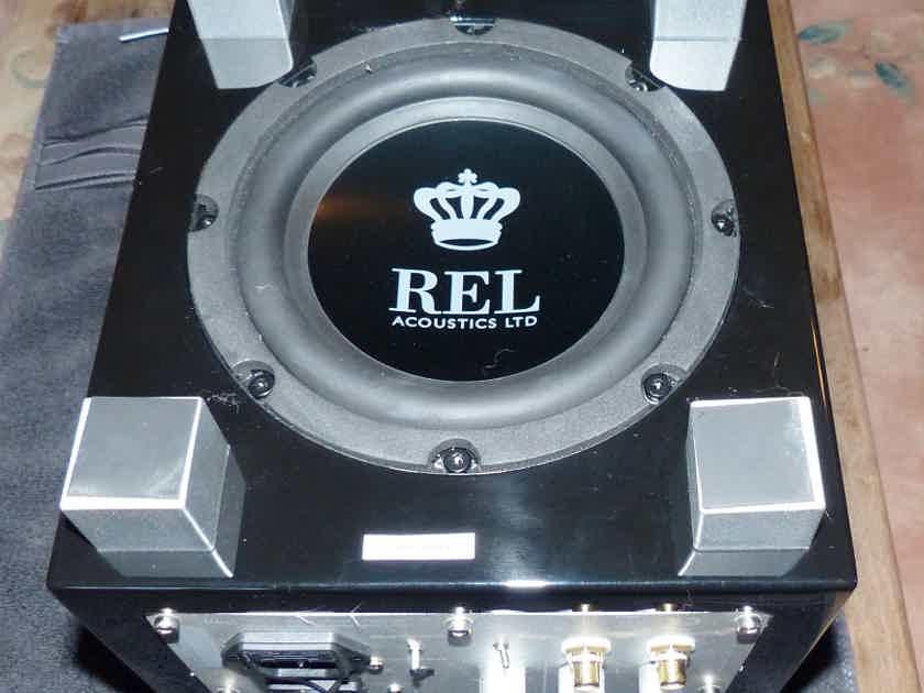 REL Acoustics T Zero PRICE DROP Black, Almost NEW Subwoofer