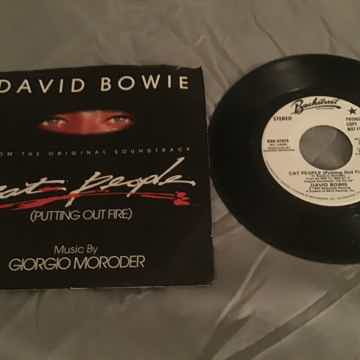David Bowie Promo 45 With Picture Sleeve Vinyl NM  Cat ...