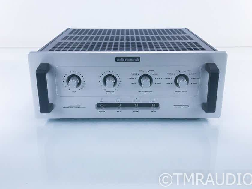 Audio Research Reference Two Stereo Tube Preamplifier; Remote; Ref 2 Mk 1 (19195)
