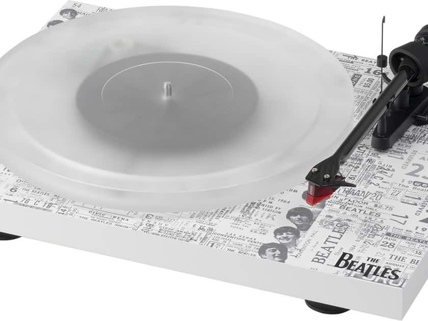 Pro-Ject Audio Systems - The Beatles 1964 Recordplayer - Ortofon Bronze/Schiit Mani