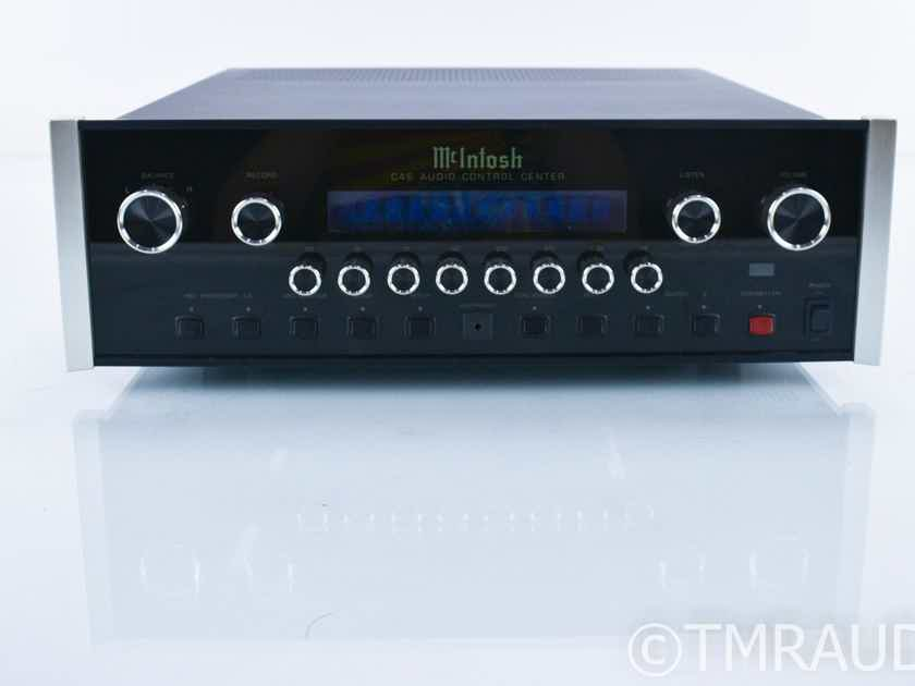 McIntosh C46 Stereo Preamplifier; C-46; Remote (18500)