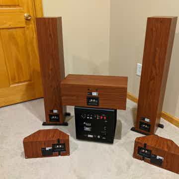 Aperion Audio Intimus 5t home theater set