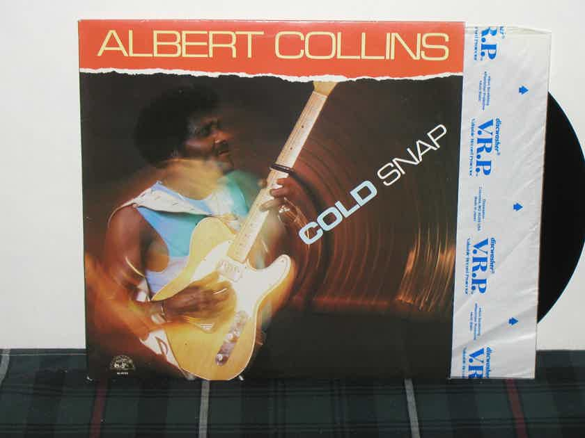 "Albert Collins  ""Cold Snap"" - Alligator AL-4752 NM Vinyl pressing from 1986"