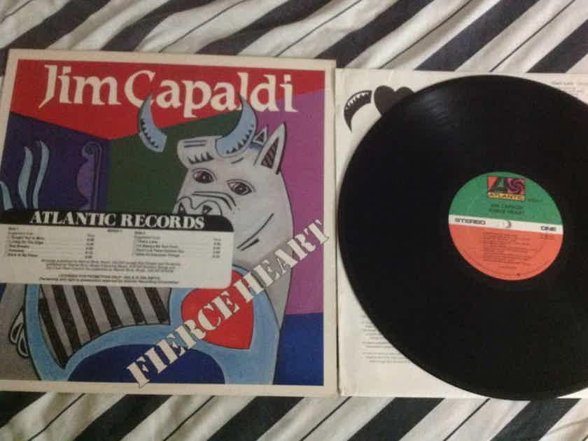 Jim Capaldi Fierce Heart Traffic Atlantic Records Promo