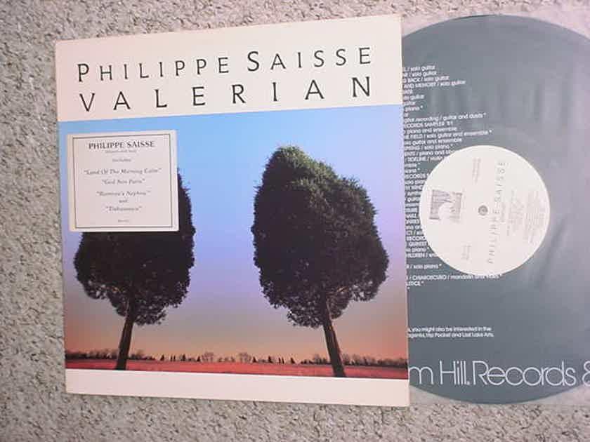 Philippe Saisse Valerian - lp record has paper insert WINDHAM HILL 1988 WH-1073 Promo stamp