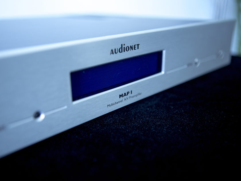 AUDIONET MAP-1 multichannel preamp new in box. Ideal for home theaters