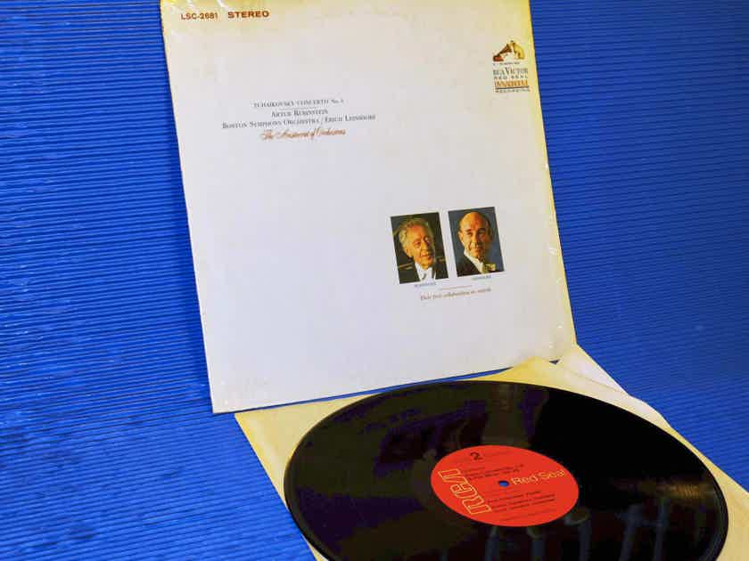 "TCHAIKOVSKY / Rubinstein - ""Piano Concerto No. 1"" -  RCA Red Seal 1969 Unplayed!"