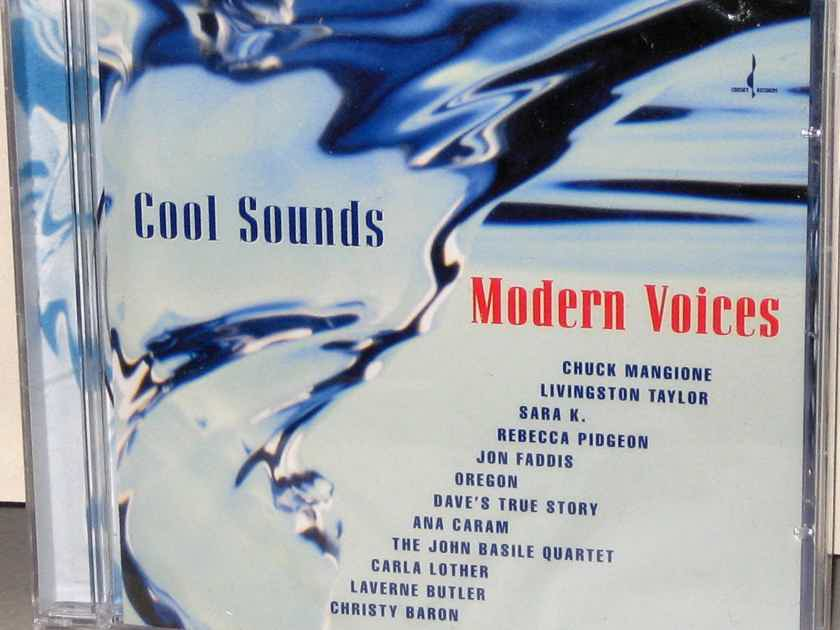 CHESKY CD JD-187 Cool Sounds Modern Voices - Sampler - USA 1999
