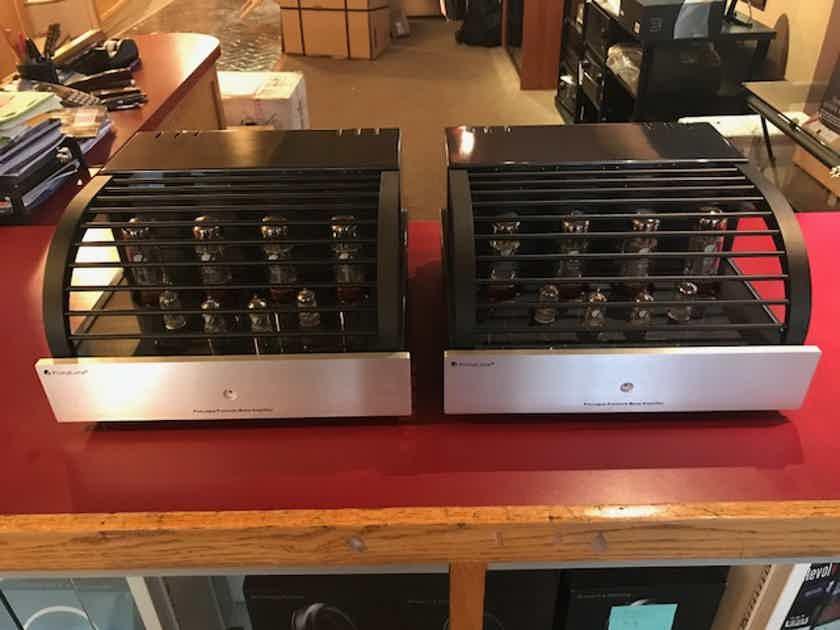 PrimaLuna ProLogue Premium Mono Power Amplifiers In Silver