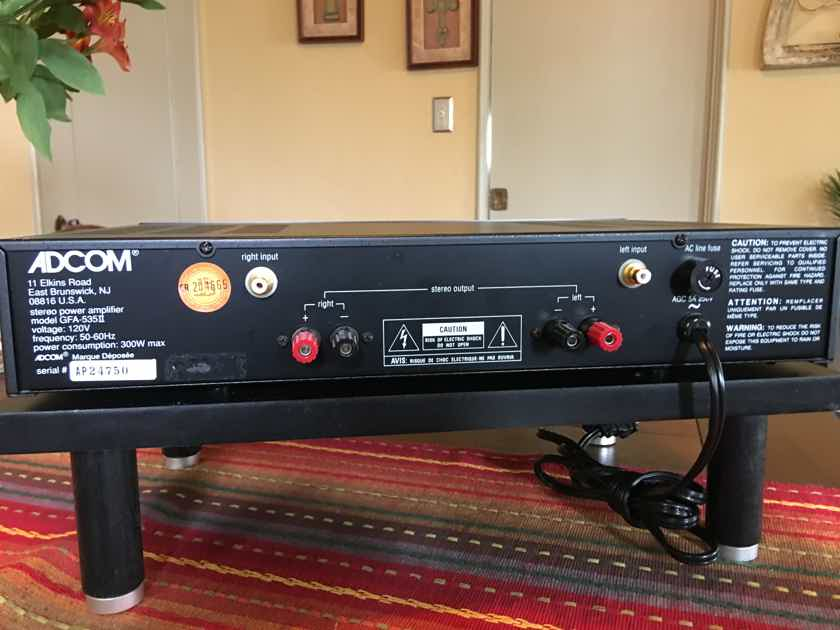 Adcom GFA-535 mkII Vintage 60 WPC Amp in EXCELLENT Condition!