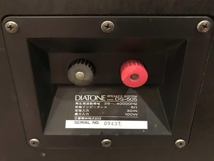 Diatone DS-505 Japanese Full Range Monitors