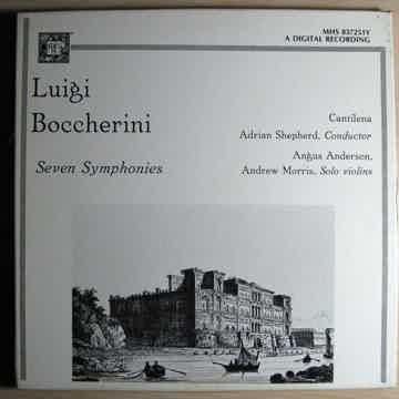 Luigi Boccherini, Adrian Shepherd Luigi Boccherini - Seven Symphonies
