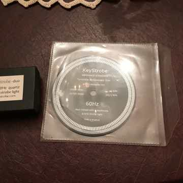 KeyStrobe strobe disc/quartz strobe light