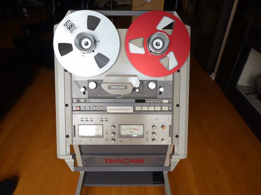 "Tascam  42B 1/4"" 2-Track Open reel tape player"