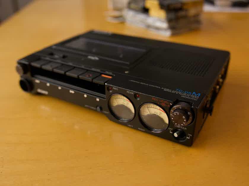 Sony TC D5 M Cassette tape deck.