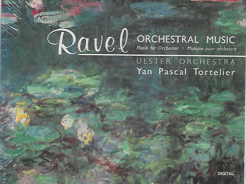 RAVEL: Complete Orchestral Works Tortelier  CHANDOS  4  CD