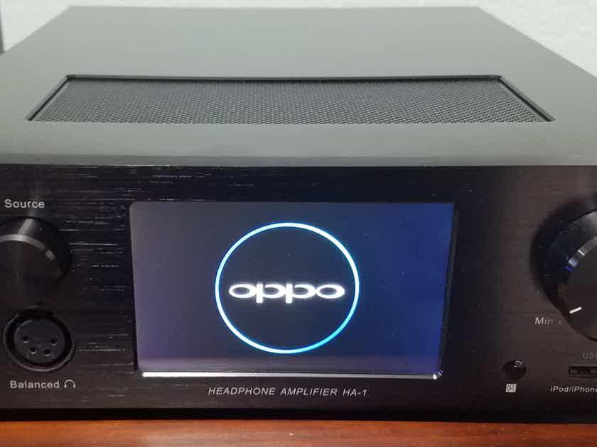 OPPO HA-1 DAC/Preamp/Headphone Amplifier