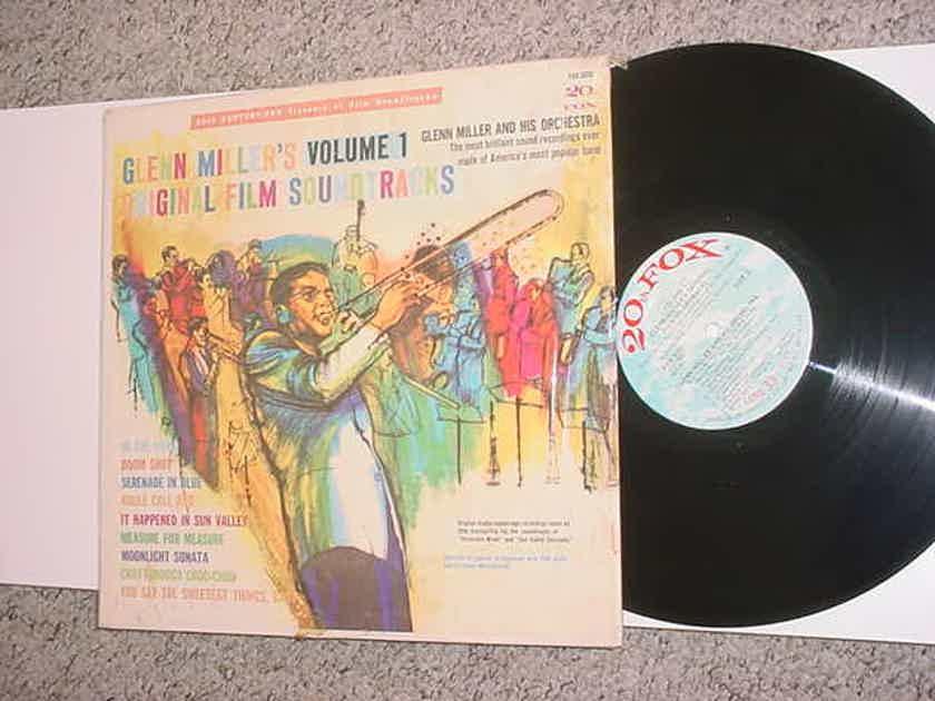Glenn Millers original film soundtracks - volume 1 lp record shrink FOX 3020 GLENN MILLER BIG BAND JAZZ See Add