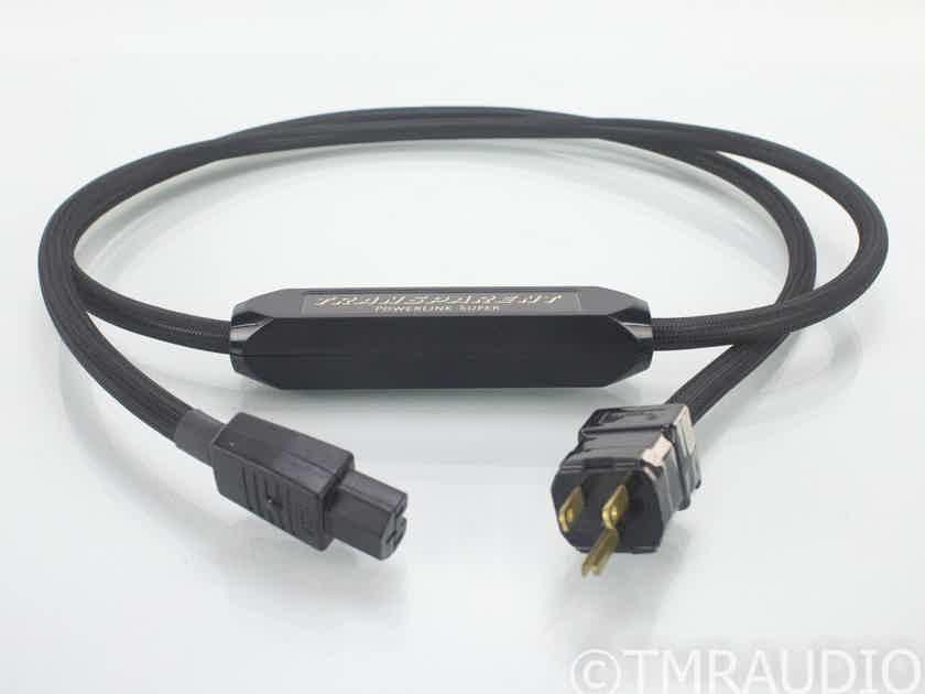 Transparent Audio PowerLink Super Power Cable; 2m AC Cord (18751)