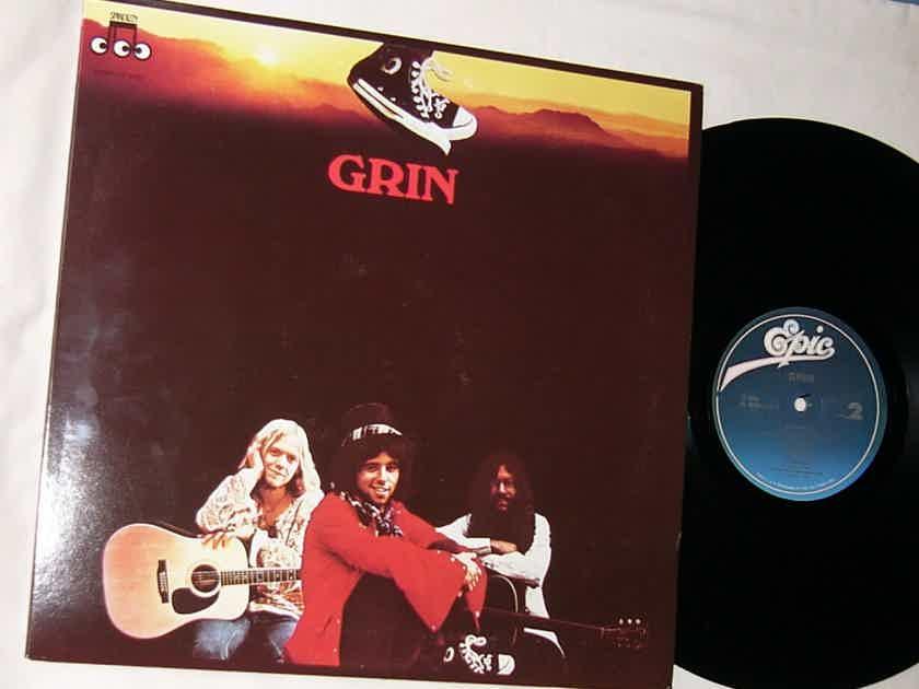 GRIN / NILS LOFGREN -  - GRIN DEBUT LP - EPIC RECORDS - CLASSIC BLUES ROCK